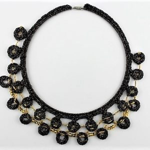 'Circles of Fun' Collar Craft Necklace