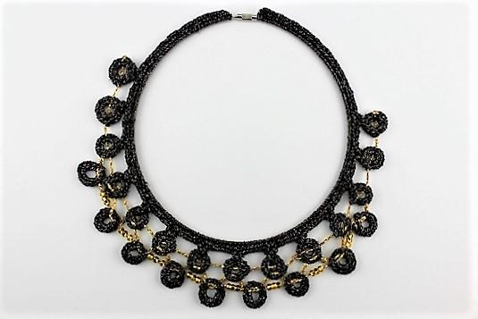 'Circles of Fun' Collar Craft Necklace