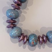 Adorable Natural Stones Set: 'Idaa' Necklace & Bracelet