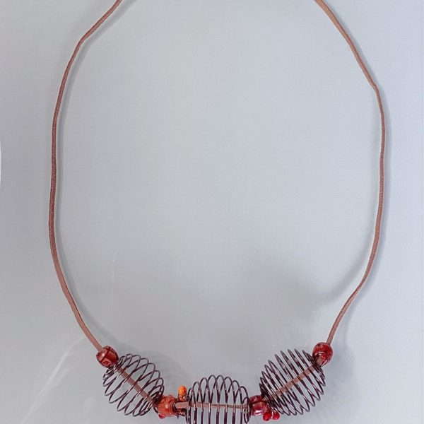 'Ezii' Handmade Recycled Necklace